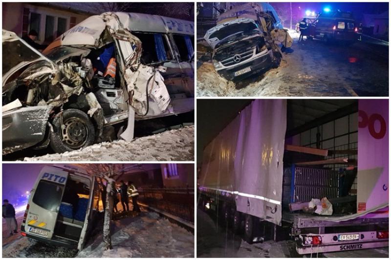 Un mort şi 12 victime este bilanţul unui accident la Lipova marţi dimineaţa