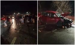Început de an cu ghinion pentru 7 arădeni implicaţi într-un accident în Mândruloc