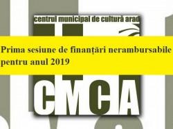Centrul Municipal de Cultură Arad a lansat prima sesiune de finanțări nerambursabile pentru anul 2019