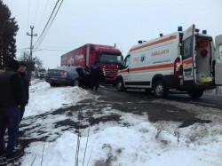 Accident rutier cu 3 victime la Șimand, pe drumul ce leagă Aradul de Oradea