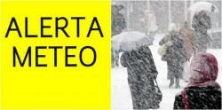 Avertizare ANM de Cod GALBEN de ninsori în TOATĂ țara !