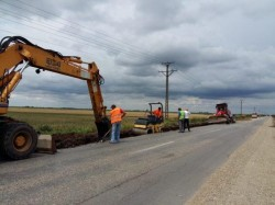 Drumul Pâncota-Seleuș este un șantier în lucru, nu o lucrare finalizată!