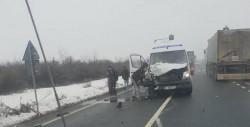 Firma de transport Pito Trans implicată în alt accident rutier, miercuri după-masa