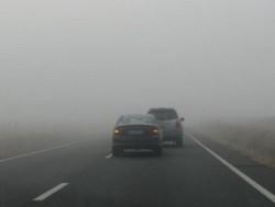 ATENȚIE șoferi ! Cod galben de ceață în județul Arad