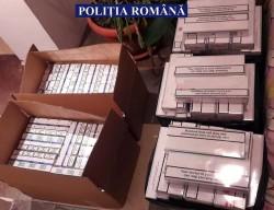 Peste 51.000 de țigarete de contrabandă găsite în casa unui arădean