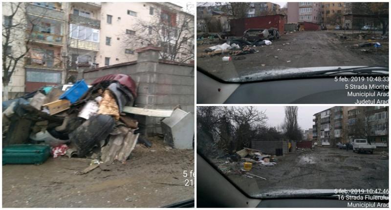 Deşeurile din construcţii şi demolări trebuie depozitate în locuri special amenajate!