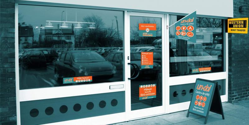 Începând cu luna Ianuarie, clienţii Apă-Canal pot achita facturile la magazinele: Un-Doi Centru de Plăți