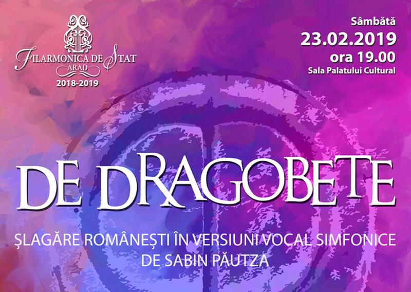 Concert vocal simfonic De Dragobete la Filarmonica din Arad