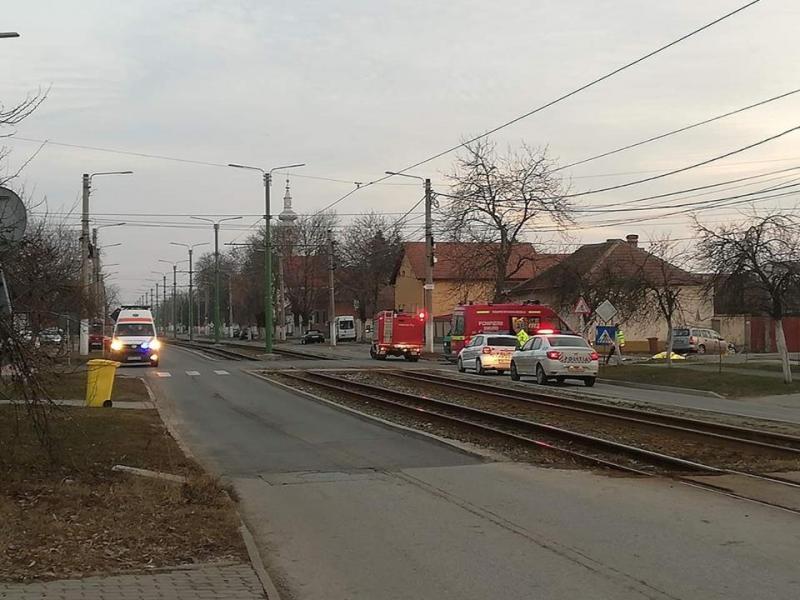 Accident MORTAL în Micălaca pe strada Renaşterii!