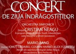Concert de de Ziua îndrăgostiților la Filarmonica din Arad