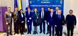 Alianța Vestului a propus Comisiei Europene la întâlnirea de la Timișoara ca autostrada Transilvania să primească  susţinere financiară