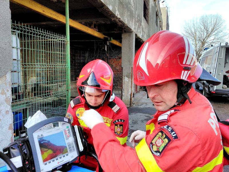 Amplă mobilizare a pompierilor arădeni la un exercițiu desfășurat la Feroneria Arad