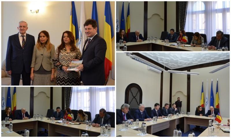 Vizită oficială a Ambasadorului Republicii Tunisiene la Camera de Comerţ din Arad