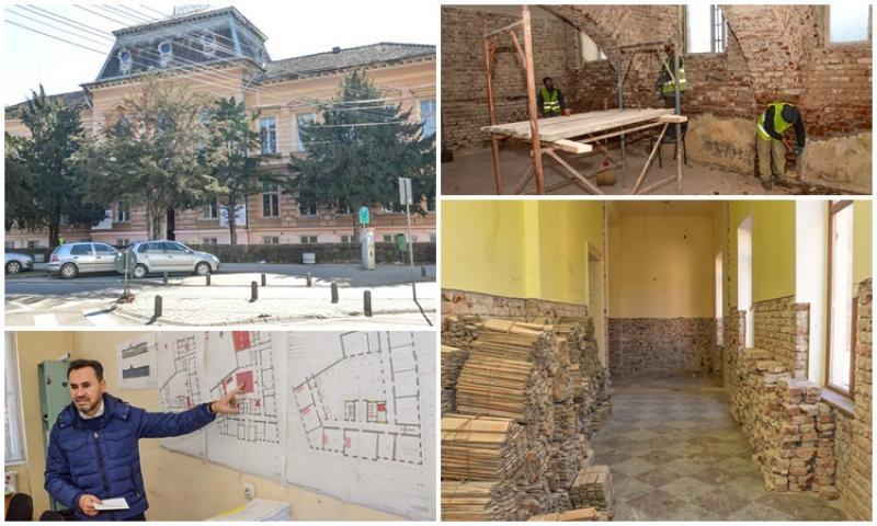 19 milioane de lei se investesc în reabilitarea Colegiului Economic din Arad