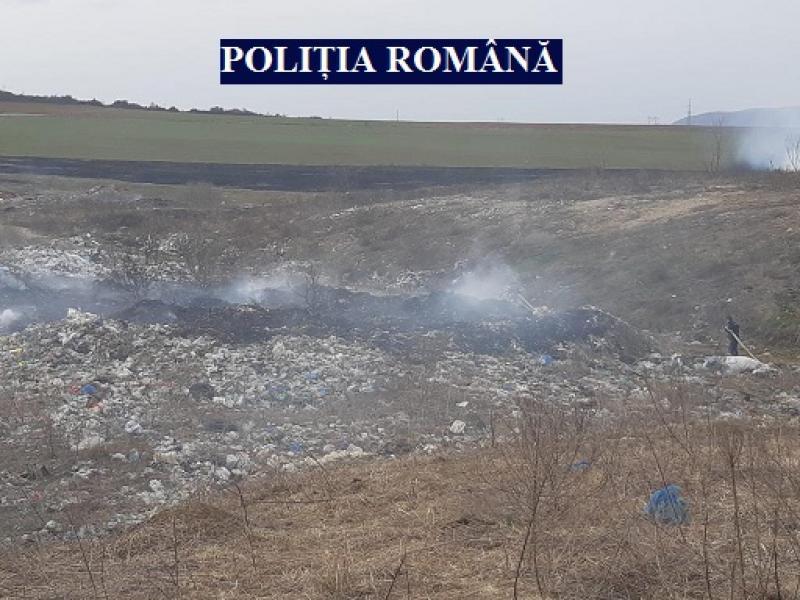 Bărbat din Arad, arestat pentru incendierea de miriște