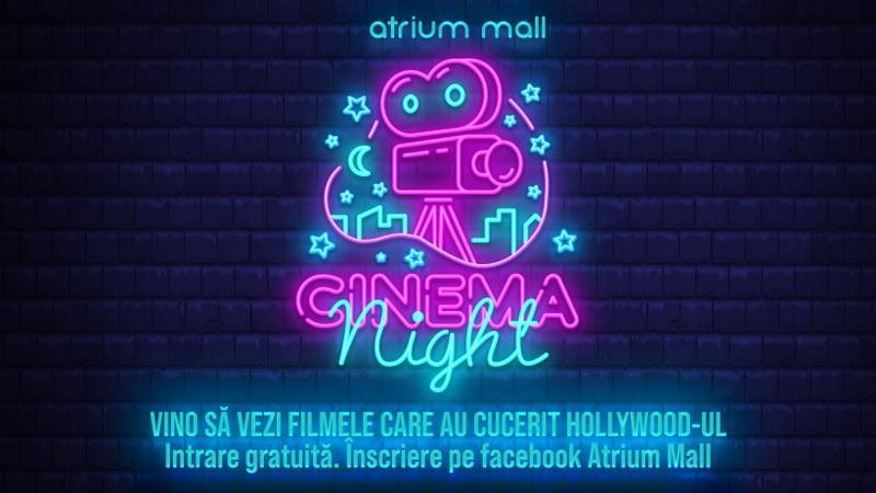 Atrium Mall a lansat seria Cinema Nights