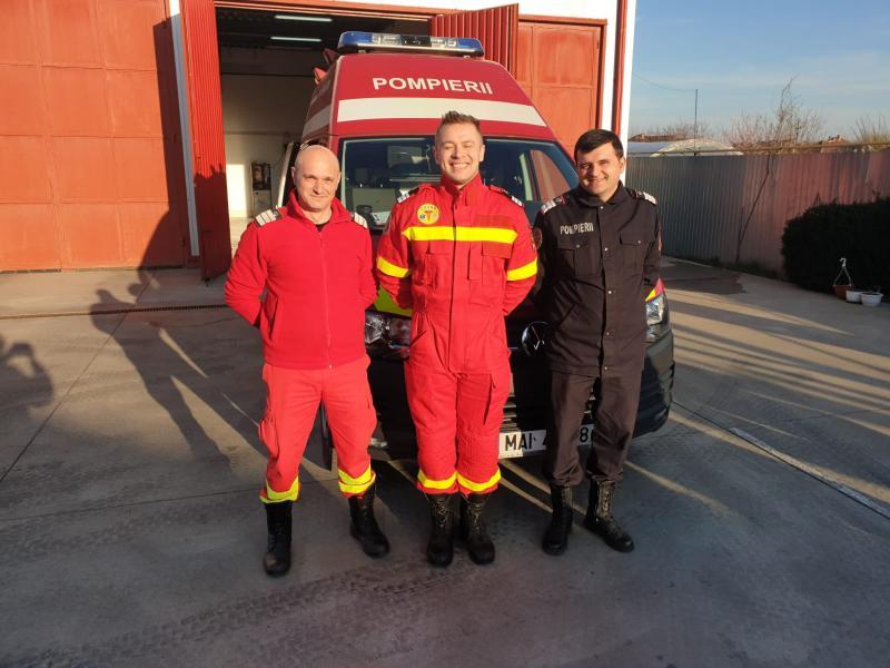 Sebastian Ciucur, Faur Sergiu și Coroban Florin, cei trei pompieri eroi, care dau viață, nu doar salvează vieți !