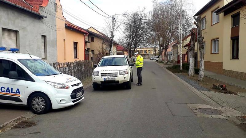 Polițiștii locali au dat amenzi șoferilor, în perioada 1-19 martie în valoare de 7.975 lei