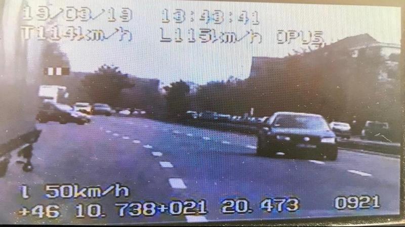 Un șofer bucureștean gonea cu o viteză de 115/h prin Arad