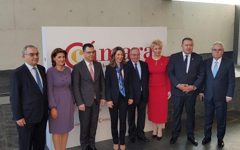 Preşedintele CCIA Arad, Gheorghe Seculici, prezent la Forumul de Afaceri și Investiții România – Spania