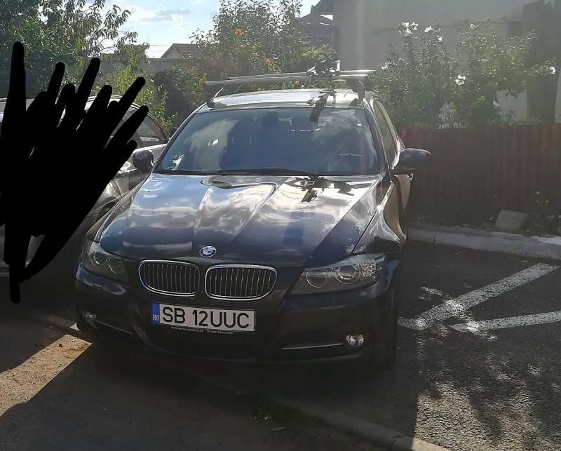 Ai văzut acest BMW seria 3 ? A fost furat din fața unui bloc din Vlaicu