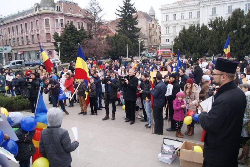 Marșul pentru viață va avea loc la Arad, sâmbătă 23 martie