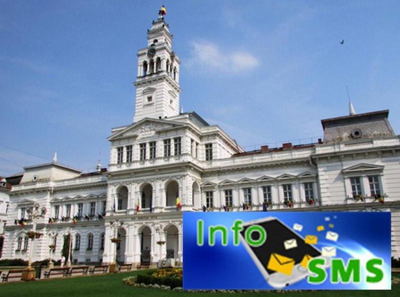 InfoSMS, un nou serviciu dedicat bunei informări a cetăţenilor
