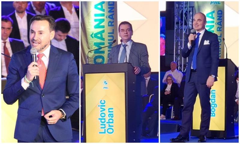 PNL şi-a lansat candidaţii pentru alegerile Europarlamentare la Timişoara în prezenţa a peste 3000 de liberali