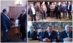 Membri asociaţiei de Prietenie Arad-Gyula au fost oaspeţii primarului oraşului CSONGRAD!