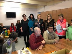 Ziua Internaţională a Femeii sărbătorită la Direcției de Asistență Socială Arad