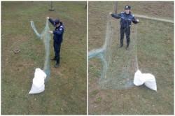 Jandarmii arădeni în acțiuni de combatere a braconajului piscicol