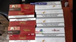 Zona Vlaicu din Arad a fost asaltată de polițiștii care au găsit 10.000 de țigări de contrabandă