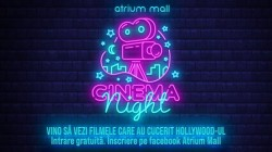 Atrium Mall a lansat seria Cinema Nights