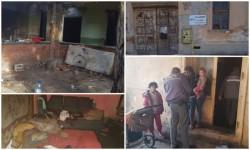Intervenţie a poliţiştilor locali pe Calea Timişoarei la un imobil locuit de persoane din alte județe fără forme legale