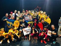 Succes deplin pentru dansatorii de la Doma Art Style la Dance Star, România 2019,Cluj-Napoca