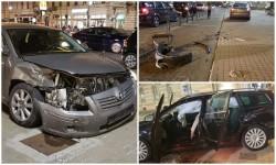 Accident violent vineri nopatea la Km o al Aradului