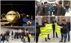 Două curse charter de pe Aeroportul Arad duc protestatarii la Strabourg