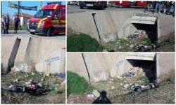 Accident mortal în comuna Şimand. Un bărbat de 60 de ani şi-a pierdut viaţa