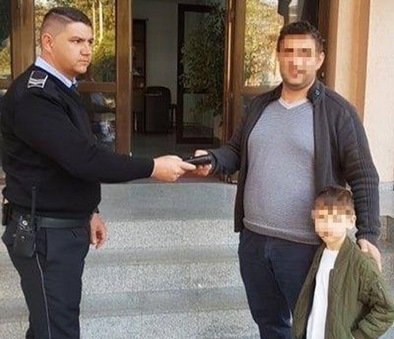Polițiștii Locali au făcut încă un arădean fericit