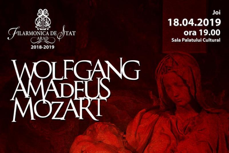 Recviemul în re minor de Wolfgang Amadeus Mozart la Filarmonica din Arad