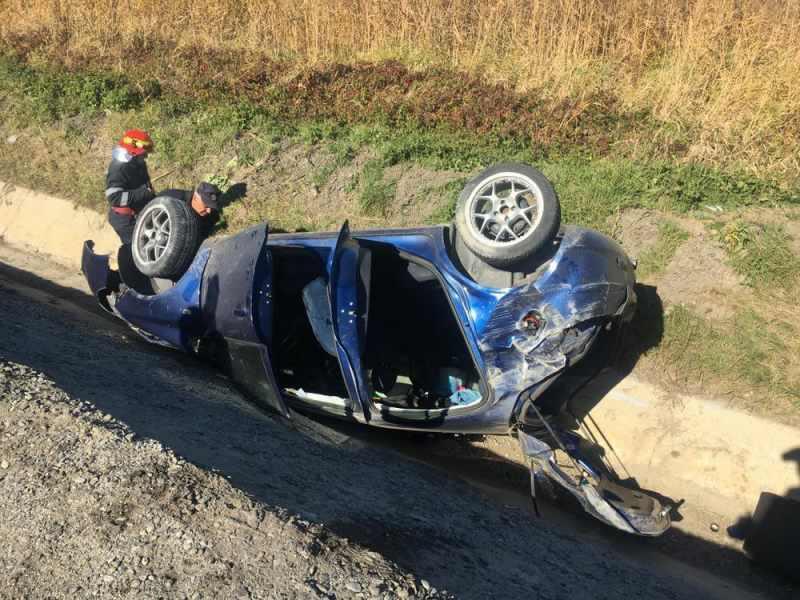 Bărbat din Felnac, reținut de polițiști după ce a condus băut și a provocat un accident