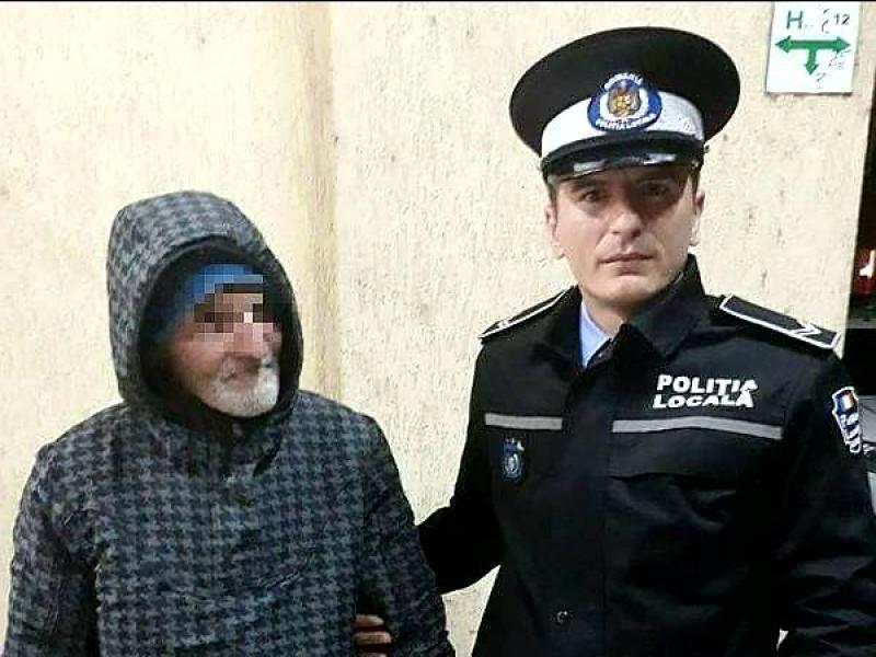 Bătrânul din Vinga care a fost dat dispărut a fost GĂSIT !