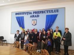 Ziua porților deschise la Prefectura Arad