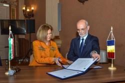 Municipiul Arad şi Sectorul XII – Hegyvidék din Budapesta au semnat programul de colaborare din acest an