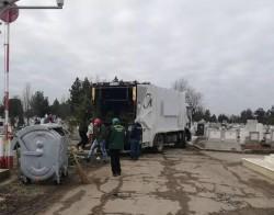 100 europubele noi amplasate în incinta cimitirelor din Arad
