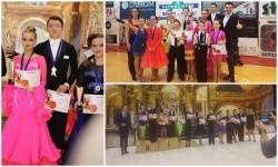 Sportivii Royal Steps înving detasat campionii naţionali de clasa la dans sportiv la Cupa Muhlbach de la Sebeş