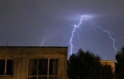 ARADUL sub Cod Galben de ploi cu descărcări electrice