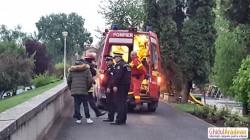 A avut zile ! Un bărbat din Arad a scăpat cu viață după ce a căzut în Mureș