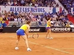 """Franța – România 3-2, în semifinala Fed Cup! """"Tricolorele"""" ratează dramatic finala în ciuda victoriilor obținute de Simona Halep"""