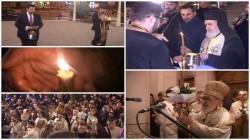 Și în acest an, la Arad Lumina Sfântă a Învierii, vine de la Ierusalim